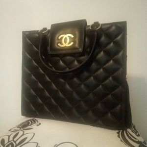Quilted Chanel Handbag